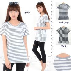 Rp 19.000 MichelleStore T-shirt Wanita / Kaos ...