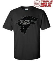 MICOSHOP - Kaos - T-Shirt Game Of Thrones House Stark