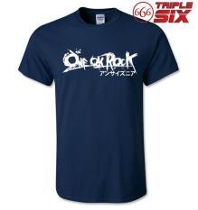 MICOSHOP - Kaos / T-Shirt - One OK Rock 1 - NAVY