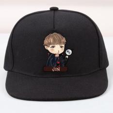 MICOSHOP - Topi Snapback Cotton BTS Jin Chibi