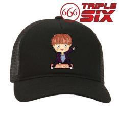 MICOSHOP - Topi Trucker BTS Jungkook Chibi