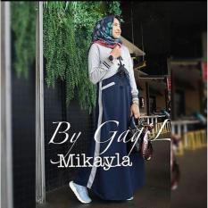 Toko Mikaila Dress Gamis Wanita Modis Syar I Online Terpercaya