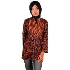 Beli Mila Style Baju Blus Blouse Batik Varian Novia Multicolor Di Di Yogyakarta