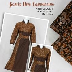 Mila Style - Baju Gamis Batik Katun CBUG575 - Multicolor
