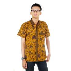 Mila Style Baju / Kemeja / Hem Batik Adrian - Kuning