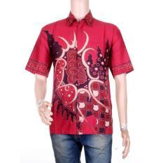 Beli Mila Style Baju Kemeja Batik Varian Hem Ramos Multicolor Terbaru