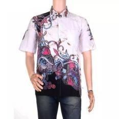 Beli Mila Style Baju Kemeja Batik Varian Hem Remekan Ardi Cokelat Mila Style Dengan Harga Terjangkau