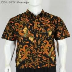 Mila Style - Baju / Kemeja / Hem Batik Lengan Pendek Motif Jokowi CBUS761 - Multicolor
