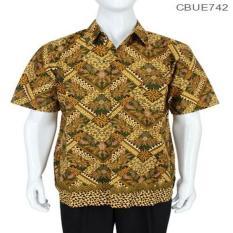 Mila Style - Baju / Kemeja / Hem Batik Madura Motif Abstrak Jokowi - Multicolor