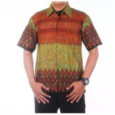 Jual Mila Style Baju Kemeja Hem Batik Varian Elang Anjani Multicolor Ori