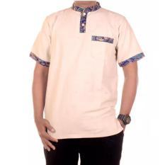 Mila Style Baju Kemeja Koko Batik Varian Aji Edisi 03 - Putih