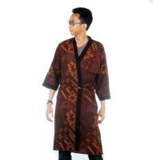 Mila Style Baju Tidur Kimono Batik Piyama Spa Mitha for Men - Multicolor