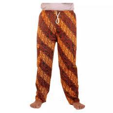 Mila Style - Celana Panjang Batik Betawi Pasangan Koko - Cokelat