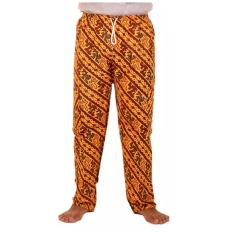 Mila Style - Celana Panjang Batik Betawi Pasangan Koko Edisi 03 - Cokelat