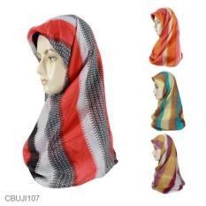 Mila Style - Jilbab Paris toko kami CBUJI107 - Multicolor