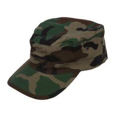 Tentara Militer Urban Topi Pelindung Matahari Pria Wanita Topi CAMO Kamuflase Hutan Baseball-Hutan Camo-Intl