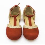 Review Terbaik Minetha Kid Shoes Sepatu Anak Perempuan Balerina Flat Usia 1 12 Tahun Merah Mimi