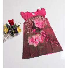 Promo Mini Dress Peacock Pink Fashion