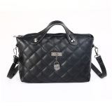 Beli Mini Women Pu Leather Handbag Messenger Bag Shoullder Bag Black Intl Tiongkok