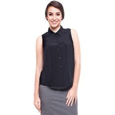 Harga Minimal Sleeveless Shirt Jet Black Paling Murah