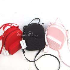 Review Miniso Jelly Bag Tas Sling Selempang Slempang Miniso Di Indonesia