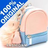 Beli Miniso Mix Color Plush Ball Coin Purse Bag Charm Gantungan Tas Kunci Pink Pakai Kartu Kredit