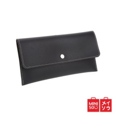 Harga Miniso Official Solid Color Long Wallet Origin