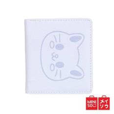 Beli Miniso Official Women S Cat Pattern Folding Wallet Blue 2315 Mn Cicilan