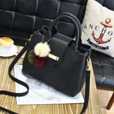 BEST SELLER MiRaBiLe TAS ELEGAN WANITA , tas tangan wanita ,   top handle bags , handbag murah , tas selempang murah - HITAM