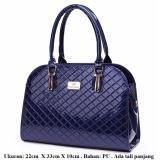 Model Mirabile Tas Tangan Wanita Elegan Handbag Cantik Elegant Handbag Selempang Cantik Biru Gelap Navy Terbaru