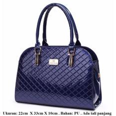 Harga Mirabile Tas Tangan Wanita Elegan Handbag Cantik Elegant Handbag Selempang Cantik Biru Gelap Navy Yang Murah Dan Bagus
