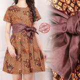 Harga Miracle Atasan Dress Midi Mila Batik Terusan Wanita Yang Bagus