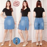 Miracle Celana Pendek Abiela Hotpants Jumbo Jeans Rok Wanita Original
