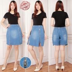 Harga Miracle Celana Pendek Abiela Hotpants Jumbo Jeans Rok Wanita