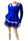 Miss Scarlet Bjn 231 Biru Miss Scarlet Diskon