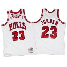 Mitchell & Ness 1988 89 Semua Bintang Hardwood Klasik #23 Chicago Bulls Swingman Pemain Micheal Jorden Jersey Luar Ruangan Set Cepat Kering Lembut Ringan Tim Warna Dewasa Rumah Putih M-Intl