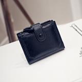 Toko Miyin Korea Fashion Style Siswa Perempuan Gesper Lipat Wallet Baru Wanita Wallet Hitam Lengkap Di Tiongkok