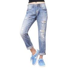 Promo Miyoshi Jeans My17Pa008Ma Boyfriend Jeans Wanita Biru Akhir Tahun