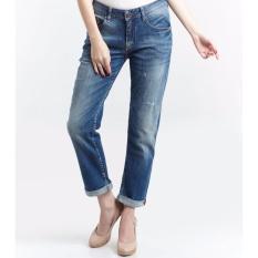Spesifikasi Miyoshi Josei Mj17Pa039Pd Cropped Jeans Beserta Harganya
