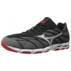 Mizuno Mens Wave Hitogami 3 Running Shoe, Quarry/High Risk Red, 8 D US