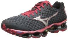 Mizuno Men's Wave Prophecy 4 Running Shoe,Turbulence/Silver,8 D US