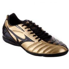 Mizuno  Sepatu Futsal Ignitus 3 IN P1GF143950 Black Gold