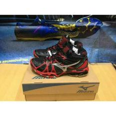 Mizuno Wave Tornado 9 Low Mid Sepatu Volly Badminton - 8Pblcq