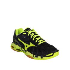 Beli Mizuno Wave Tornado X Black Safety Yellow Dark Shadow Baru