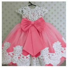 MJ Dress anak Prinsesa Kids - Brukat
