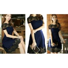 MJ Dress Mency Alexis - Navy