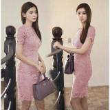 Ongkos Kirim Mj Dress Nanami Brukat Di Dki Jakarta