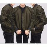 Mj Jaket Bomber Premium Brown Mj Diskon 30