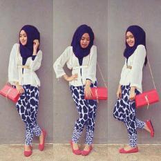 MJ Set Hijab 4in1 Sugar - Putih