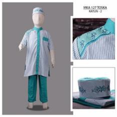 MKA 127 Tosca (2-13tahun) baju koko anak embroidery